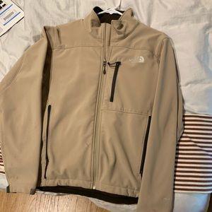 North Face jacket tan S/P